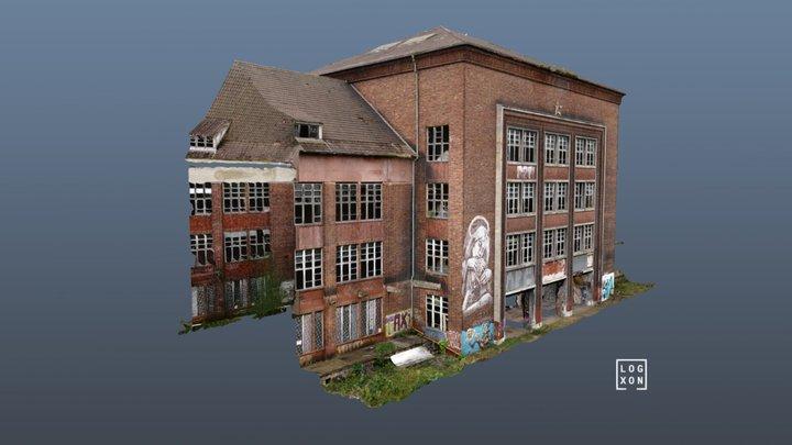 Barrack Facades - 2 ways of scanning & modelling 3D Model