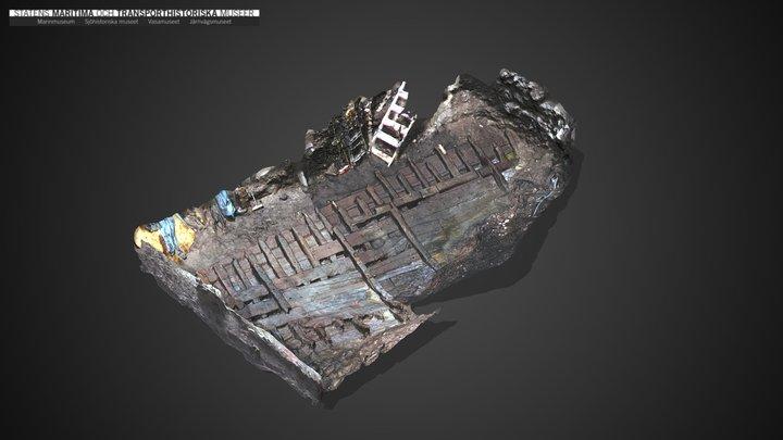 Kungsanvraket 3D Model