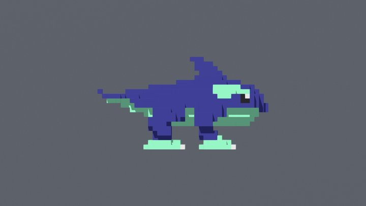 Orcane - Rivals of Aether 3D Model