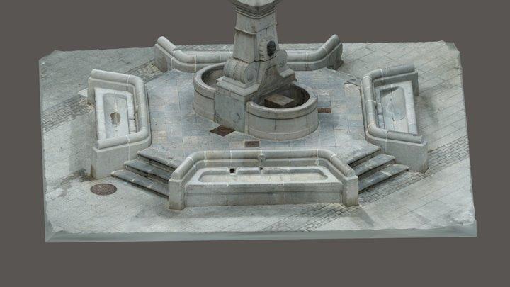 Font dels Xorros / Fuente de los Chorros 3D Model