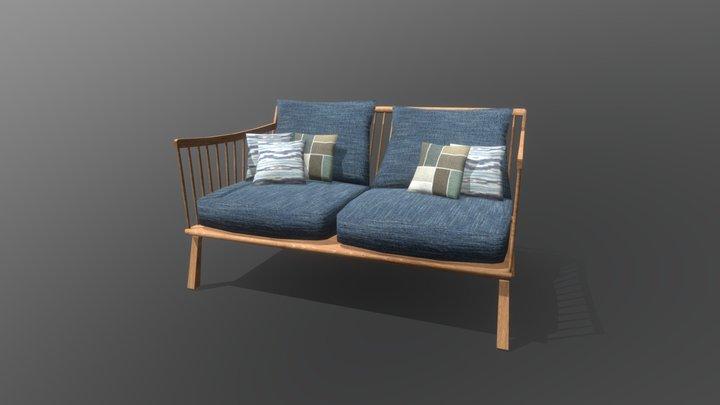 Exterior Chair 3D Model