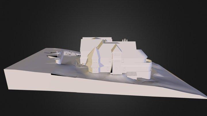 Mitchell House 3D Model