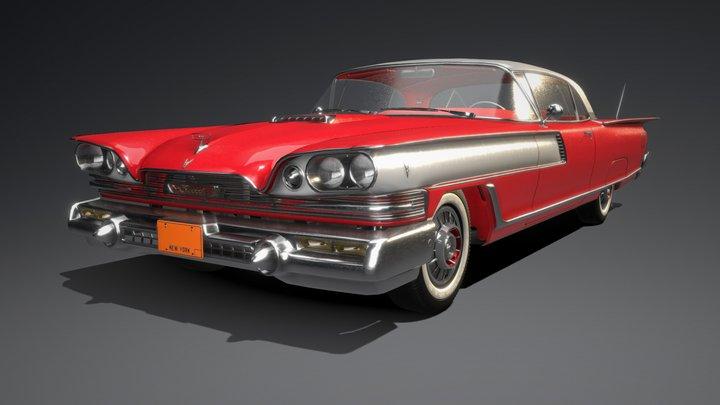 1959 Elwood Iroquois Brillare Special 3D Model