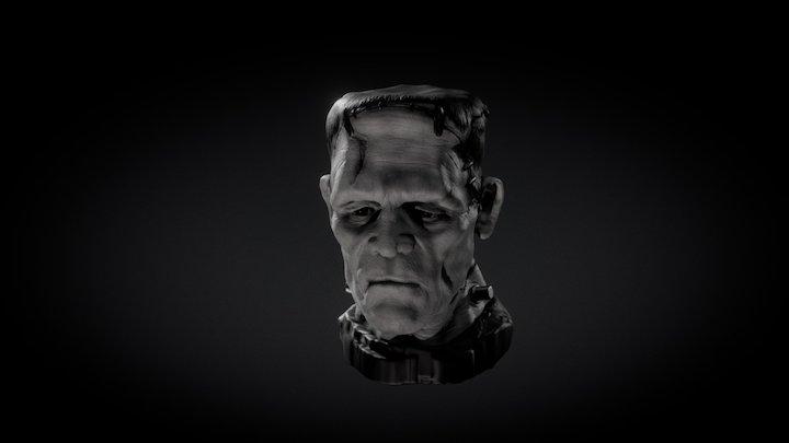 Karloff Monster 3D Model