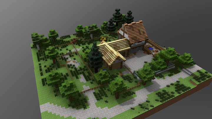 Butcher's Yard 3D Model