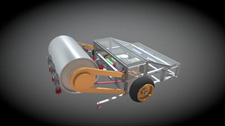 Screamroller 3D Model
