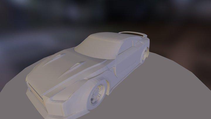 Nissan-GTR 3D Model