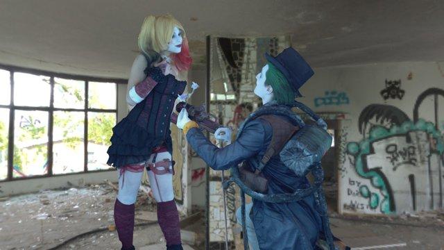 Coppia Joker 3D Model