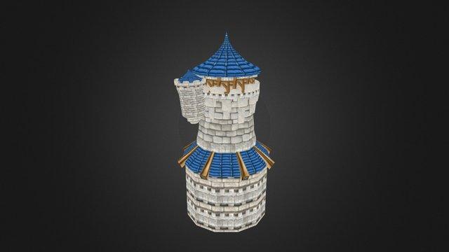 Stormwind Keep Main Tower 3D Model
