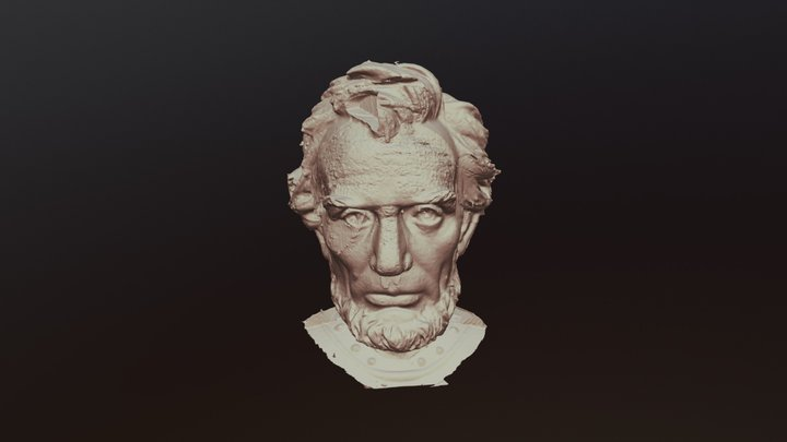 Bust of Abraham Lincoln 3D Model