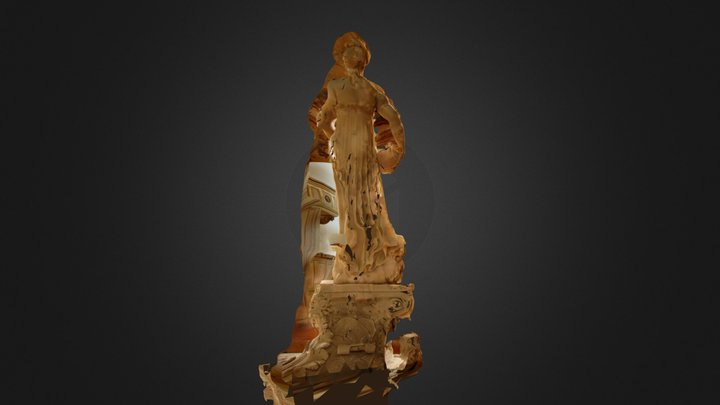 san giacomo statua 1 texture meshlab 3D Model