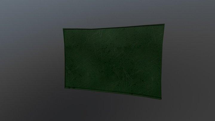 Hello Neighbor Blackboard 3D Model
