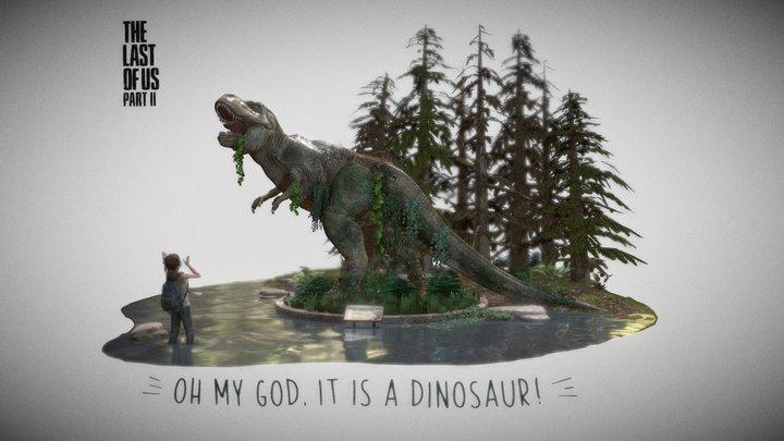 """""""Ellie's Birthday"""" The Last of Us 2 / Fan art 3D Model"""