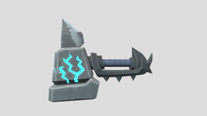 Stylized Hammer 3D Model