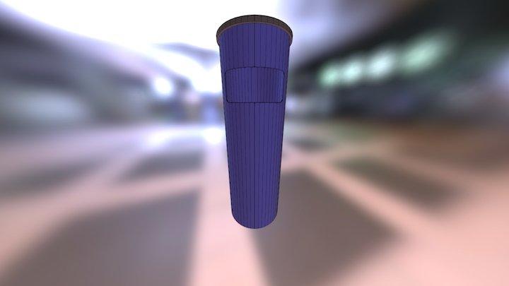 Урна-005Э 3D Model