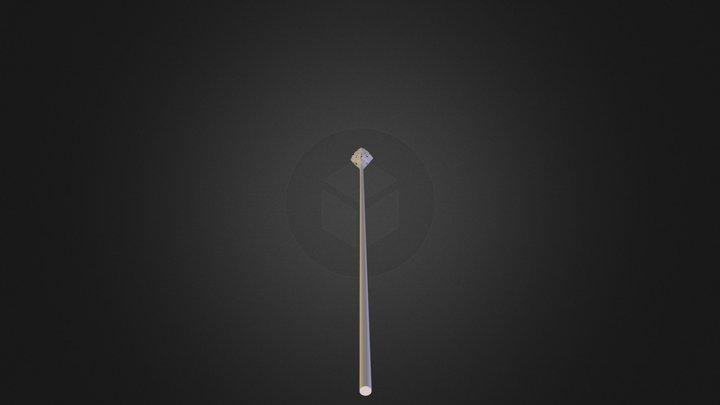 Gandalfs' Staff 3D Model