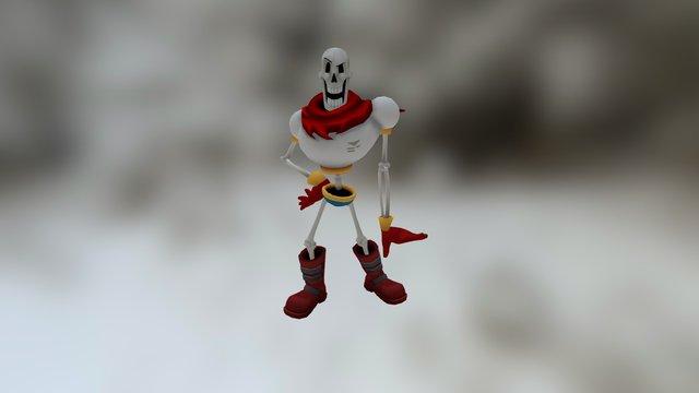 Undertale ❤: Papyrus 3D Model
