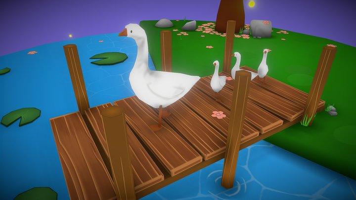 Fantasy Pond 3D Model