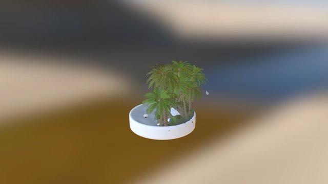 Beach Turnaround 3D Model