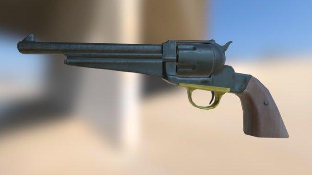 Santore Lv 002 Revolver 3D Model