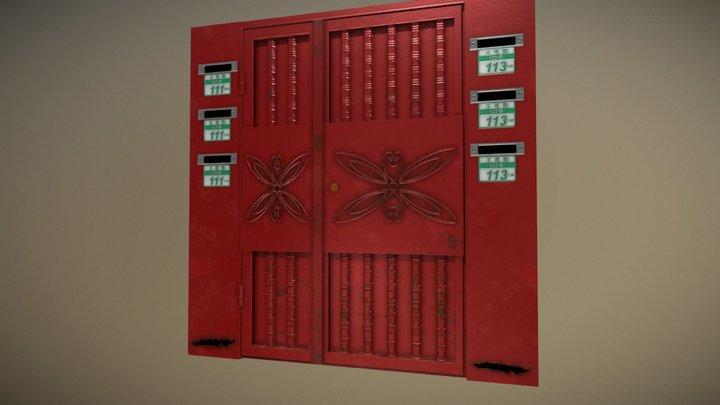 Taiwan Iron Door 3D Model