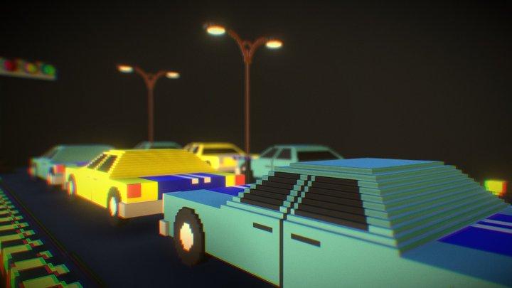 traffic lane 3D Model