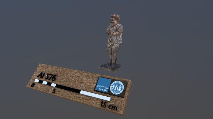 Helenistic terracotta figurine 3D Model