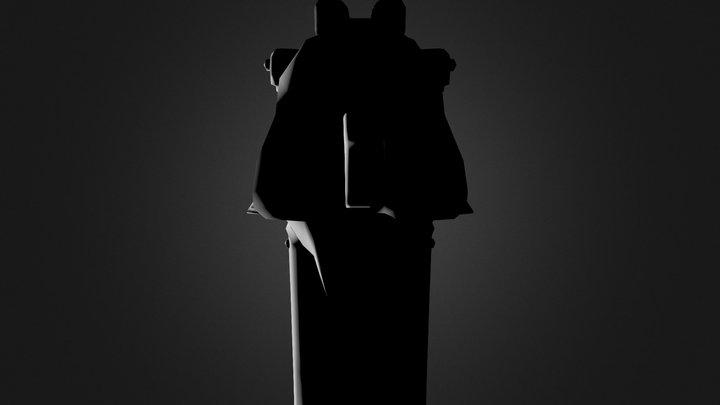 Pistol_NE_Old 3D Model