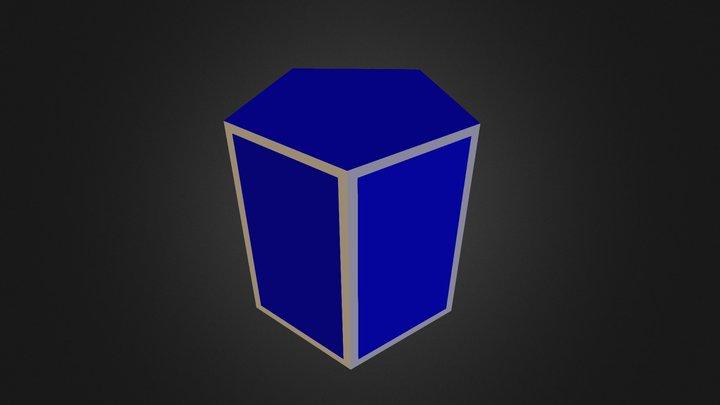 regular prism 3D Model