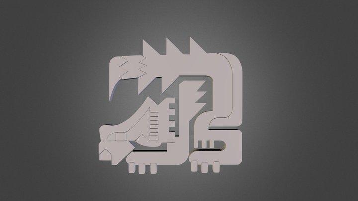 Nargacuga Icon | Monster Hunter 3D Model