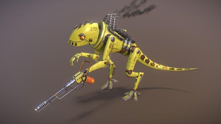 Diesel Lizard 3D Model