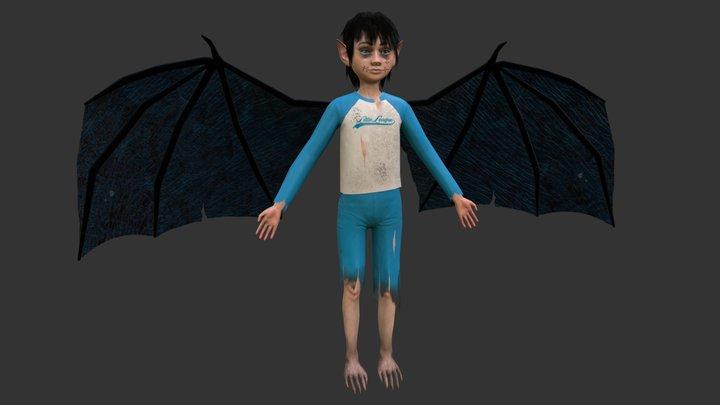 Bat Bat Boy 3D Model