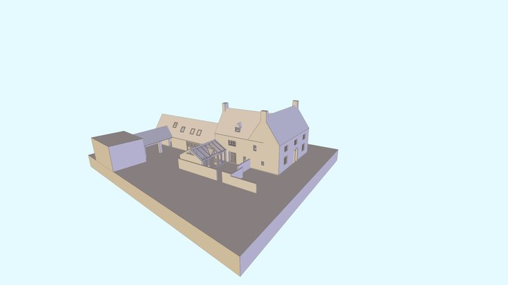 229 Extensions to Existing Dwelling 3D Model