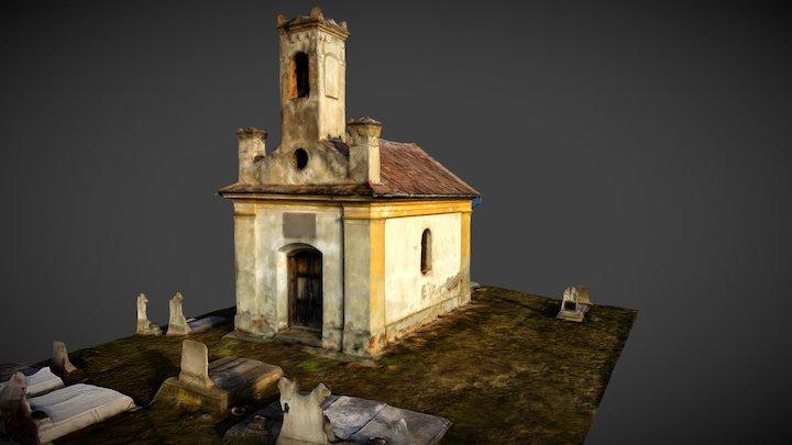Temetőkápolna, Bagod 3D Model