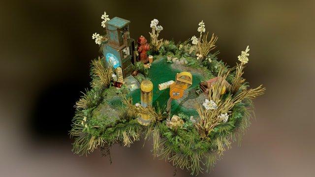 The Last Stop - Diorama 3D Model