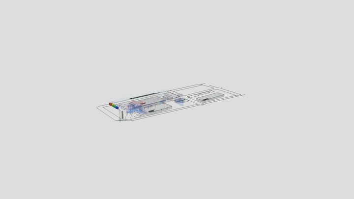 ToyosuSoil Contamination 6 Brock 3D Model