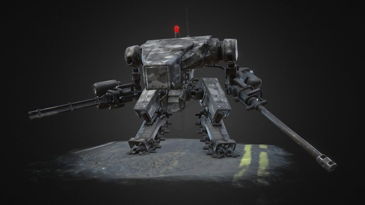JP Mech - Urban 3D Model