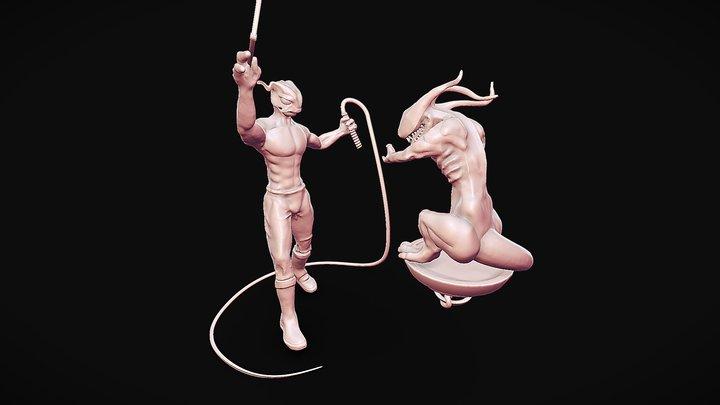Alien Tamer 3D Model