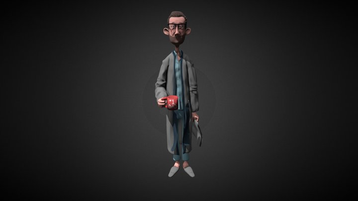 Bob4 Paint 007 3D Model