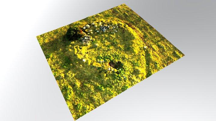 Hut Circle 3D Model