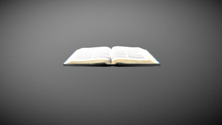 Psychology Book 3D Model