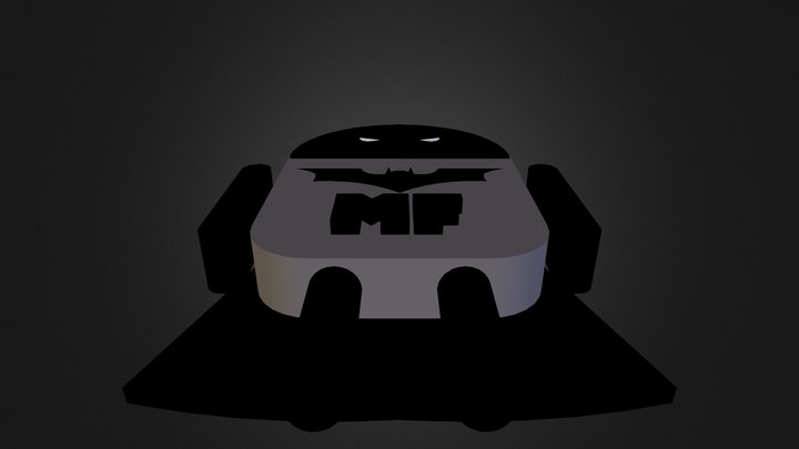 Droid Bug Batman 3D Model