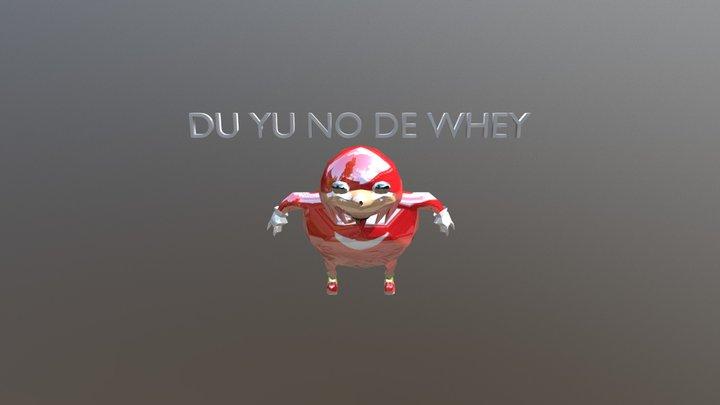No de way 3D Model