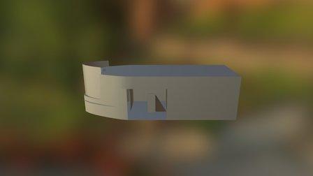 Full Ship Layout 3D Model