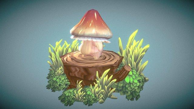 【Mushroom】 3D Model
