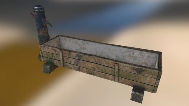 Trough 3D Model