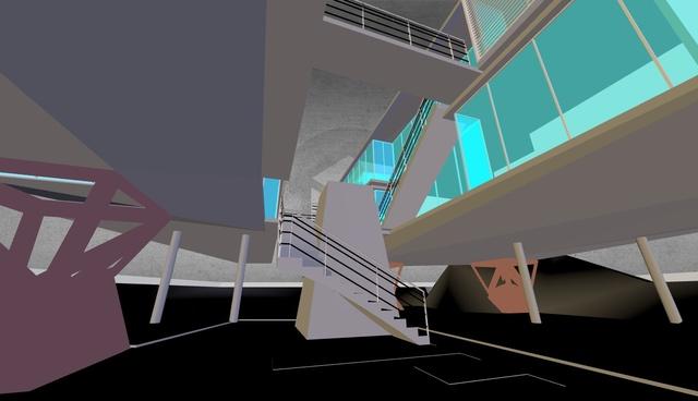 proyecto casas apiladas 3D Model