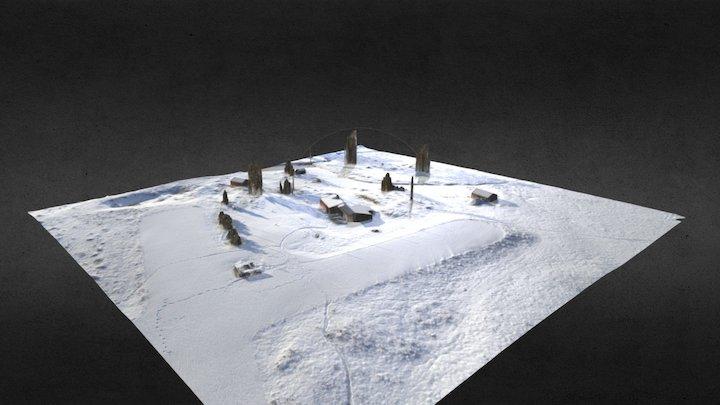 Fredsmyr modellflyplass 3D Model