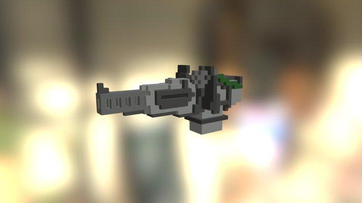 Automatic Turret #magicavoxel 3D Model