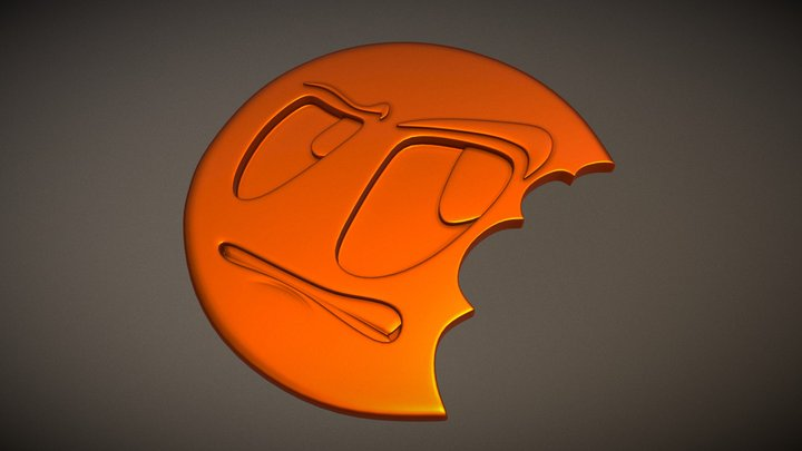 Modeling A Logo 3D Model
